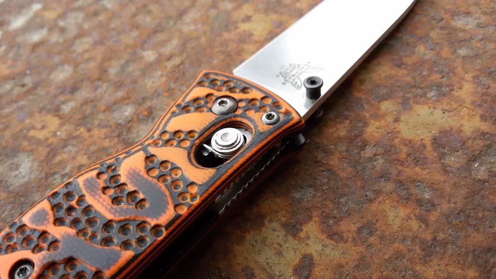 Накладки ручной работы для ножей Benchmade