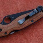 Кастомные накладки для ножей Spyderco Para - Military 2