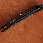 Кастомные накладки для ножей Spyderco Military, Carbon