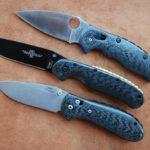 Кастомные накладки для ножей ONTARIO RAT 1, Carbon Fiber