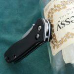 Кастомные накладки для ножей BENCHMADE 710, ЭБЕНОВОЕ ДЕРЕВО