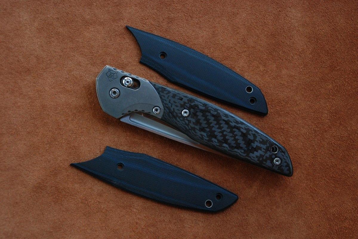 Кастомные накладки для ножей ШИРОГОРОВ 110