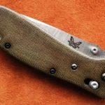 Кастомные накладки для ножей Benchmade 551 MIC