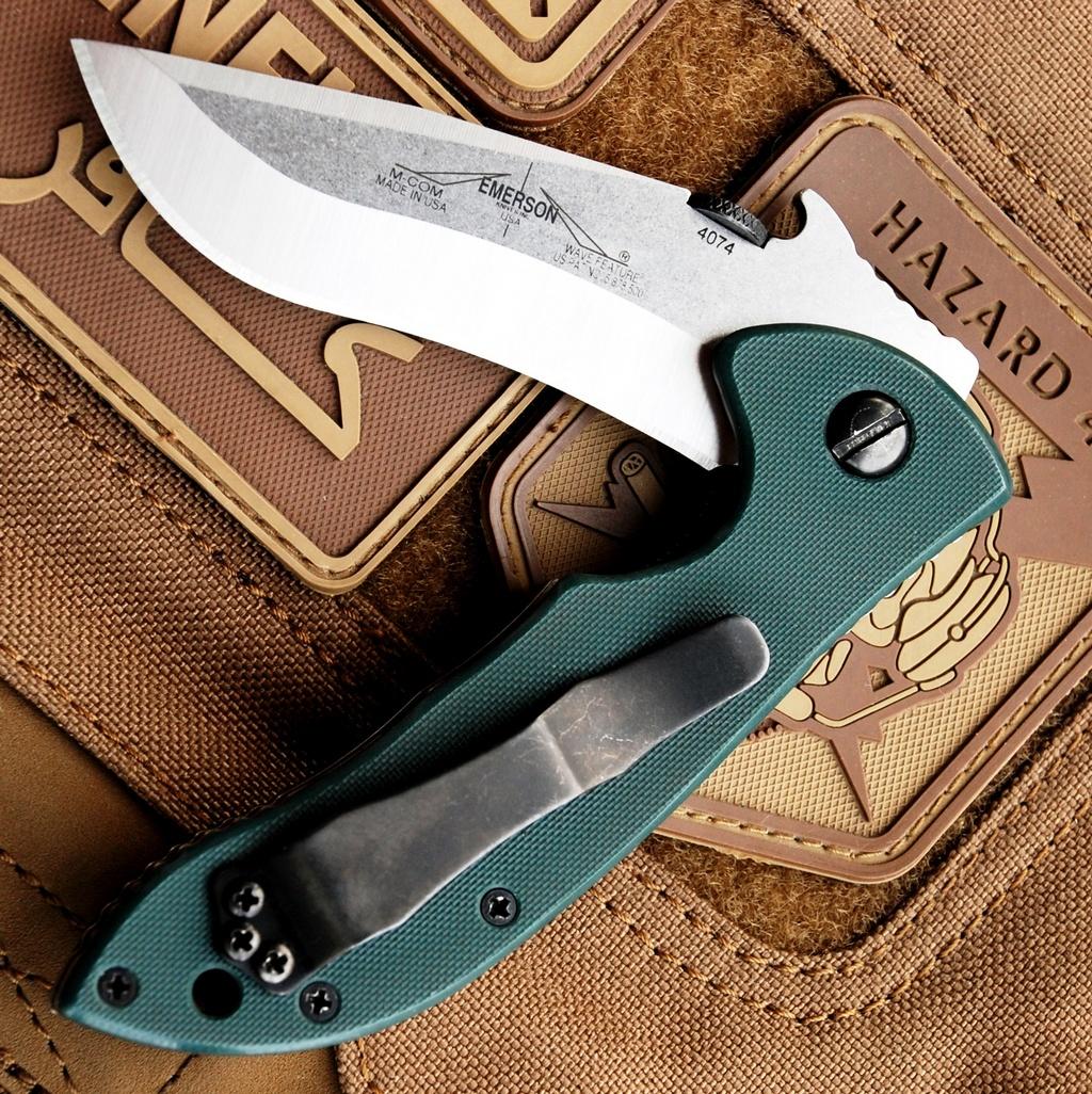 Кастомные накладки для ножейEmerson