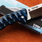 Кастомные накладки для ножей Cold Steel CODE 4 bl.
