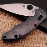 Кастомные накладки для ножей Spyderco MANIX G .